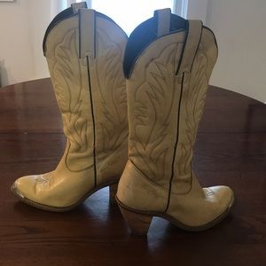Woman's Kenny Rogers made in USA cowboy boots